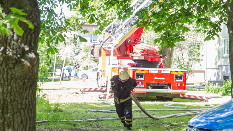 Tulekahju Maardu sotsiaalmajas: 7 inimest vajas haiglaravi