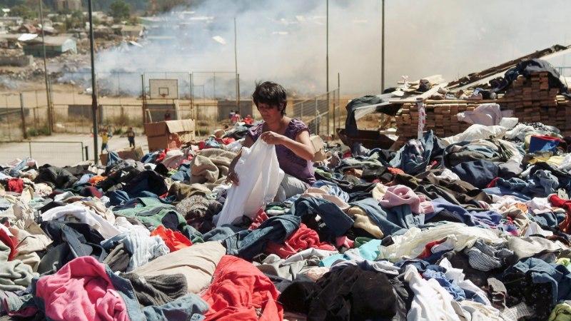 Üksik kontsking ja kasutatud teekotid: kuidas katastroofipiirkonna inimesi MITTE aidata