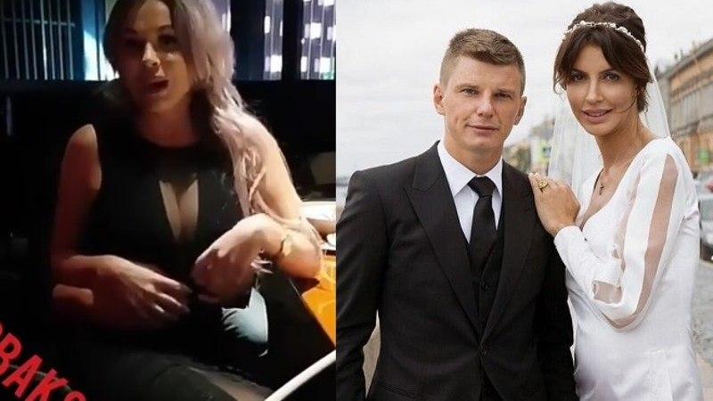 """Võõras modell sattus Venemaa vutistaari embusesse. Jalgpalluri abikaasa ei jäänud võlgu: """"Ma olen FSB ametnik ja lõikan sul sõrmed maha!"""""""
