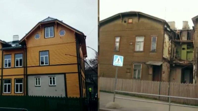 SEITSE ÜHE VASTU: tüli korteriühistus kukutas osa majast kokku