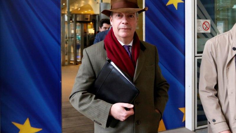 Nigel Farage ähvardab uue Brexiti-hääletusega