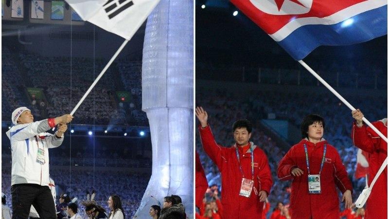KAS TÕESTI? Pyeongchangis võib näha kahe Korea ühist jäähokikoondist