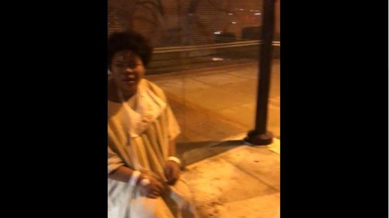 VIDEO   Arstid jätsid kitliväel patsiendi bussipeatusse
