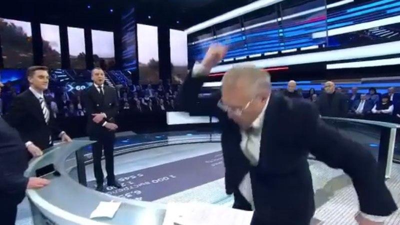 VIDEO | Žirinovski kaotas telesaates enesevalitsuse, lubades ukrainlasi maha laskma hakata