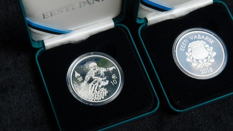 GALERII | Valmisid taliolümpiale pühendatud meenemünt ja postmark