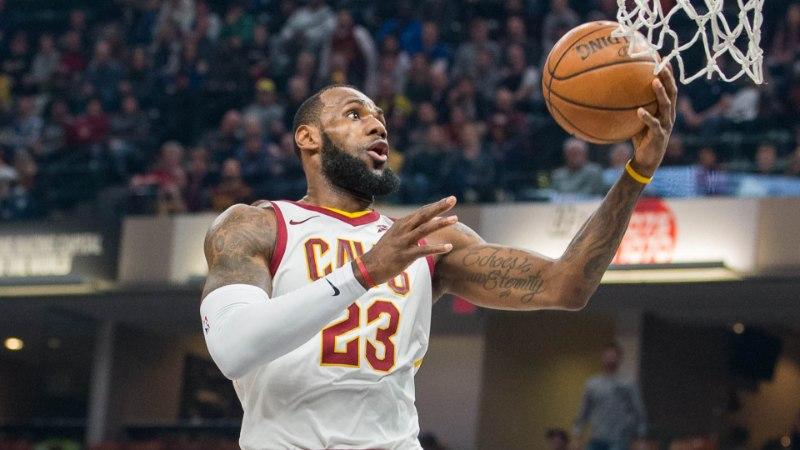 VIDEO | Cleveland lasi käest suure eduseisu, patuoinaks osutus LeBron James ise