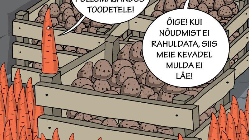 Juhtkiri | Ununenud lubadus odavast toidukorvist