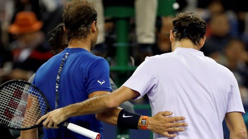 Tõeline spordimehelikkus: Federer saatis oma suurele rivaalile Nadalile südamliku sõnumi