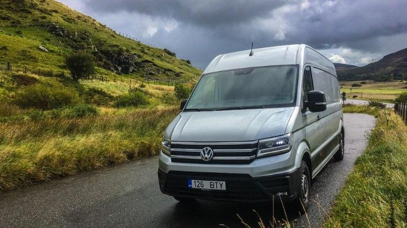 KASUTAJAKOGEMUS: poolsada tuhat kilomeetrit uue Volkswagen Crafteri roolis