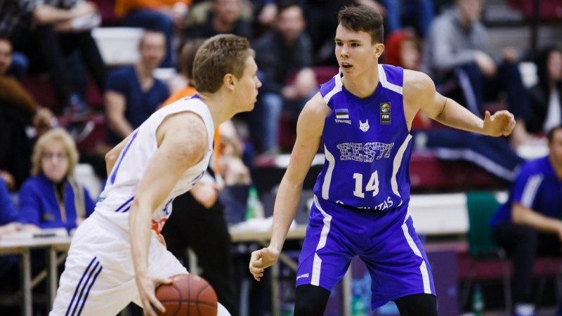 UUES BASKETBALLIS | Korvpalli noortekoondislane Kaspar Lootus karmis olelusvõitluses Leedus