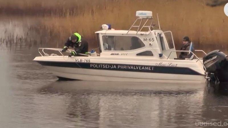 TV3 VIDEO | Politsei jätkas nuku abil Pärnu jõkke hüpanud noormehe otsinguid
