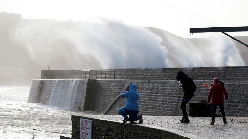 TORMIGALERII | Euroopas tuulitab ringi võimas Eleanor