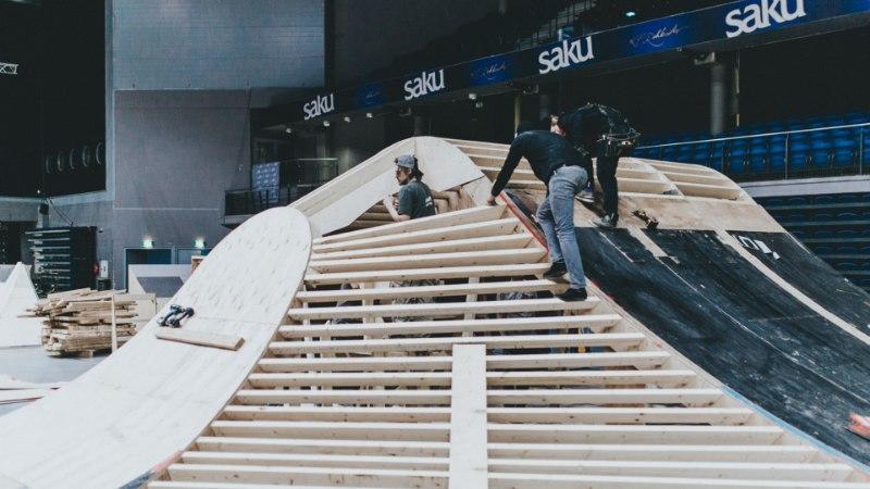 PILDID JA VIDEO | Vaata, kuidas kerkib Simple Sessioni kõigi aegade vingeim võistluspark!