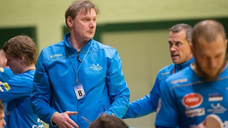 Eesti käsipallikoondis loodab kordusmänguks Šveitsiga saada lisajõudu