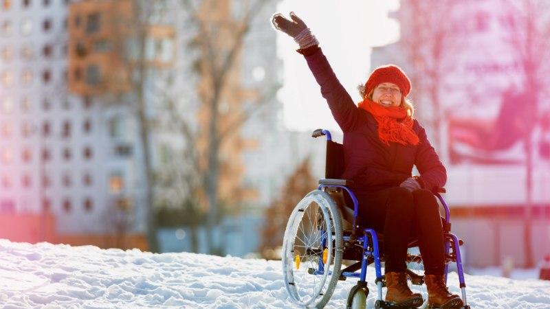 LIIKLE TURVALISELT: viimane aeg on ratastool talvekorda seada