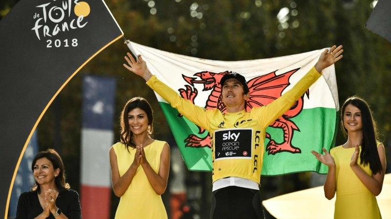KUIDAS SEE VÕIMALIK ON? Näpati Tour de France'i võidukarikas