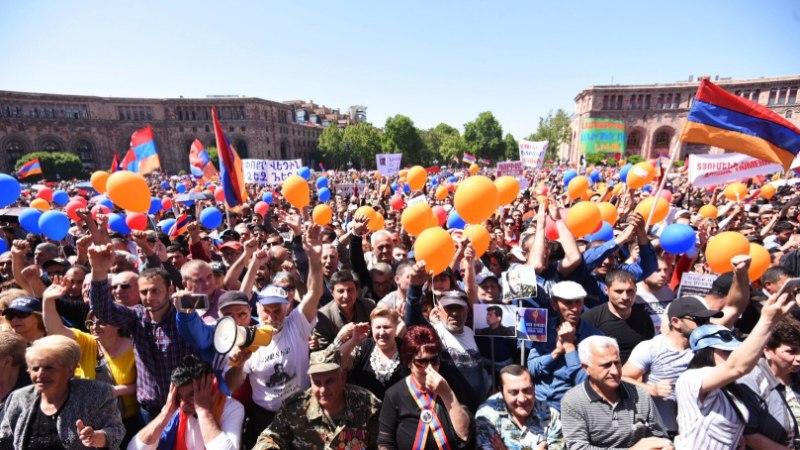 Мэром столицы Армении стал комик