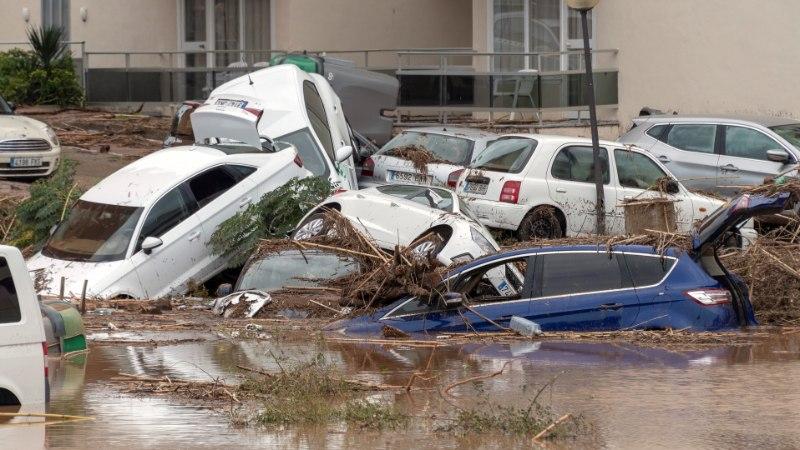 Mallorcal hukkus paduvihmas 12 inimest