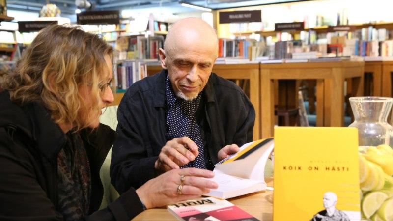 GALERII | Uut raamatut esitlenud Mihkel Mutt: kirjaniku üks tähtsamaid rolle on pakkuda inimestele hingeabi