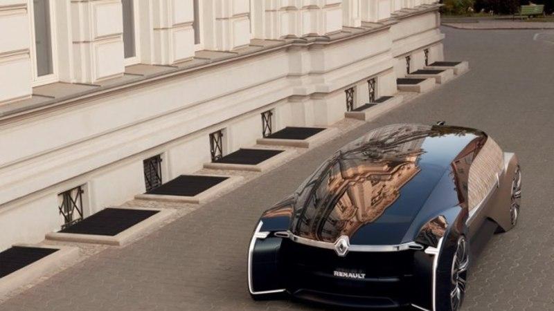 Robotid vallutavad automaailma: Renault näitas kolmandat ulmesõidukit