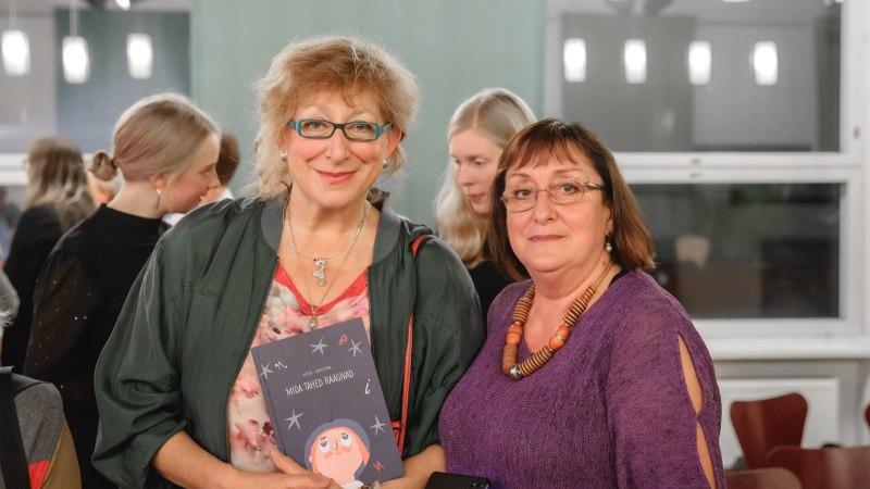 GALERII   Peeter Volkonski ema Helvi Jürisson esitles uut raamatut