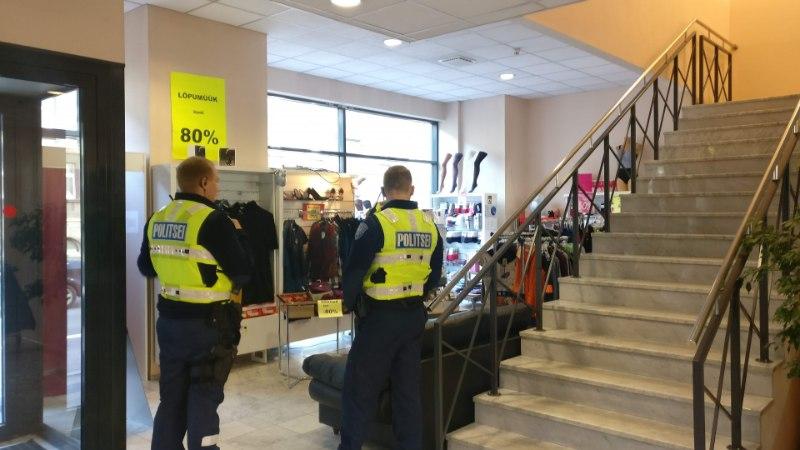 FOTOD | Tallinna kesklinna ärikeskuses käisid jälle vargad