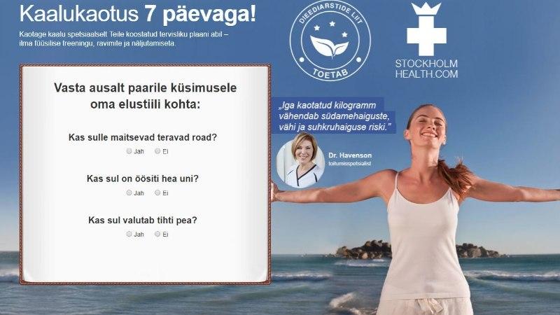 Stockholmi dieeti reklaamiv dieediarstide liit asub Lätis