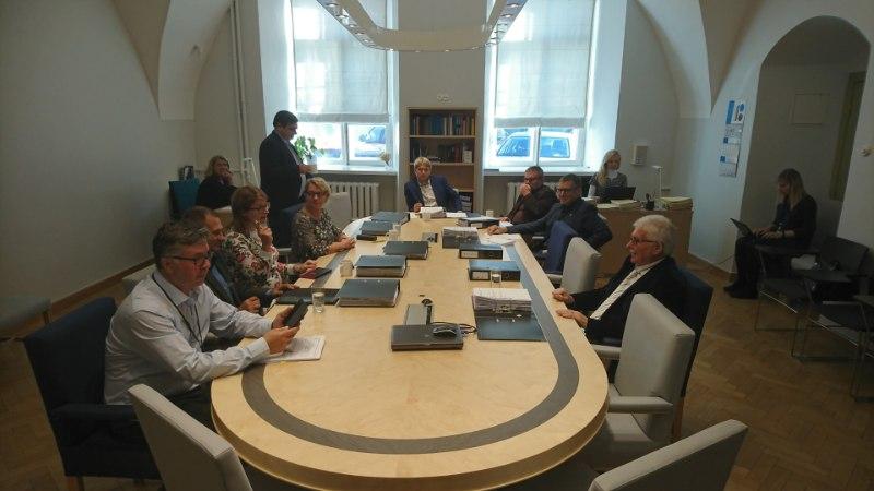 GALERII | Ligi annab Danske asjus õiguskomisjonile selgitusi