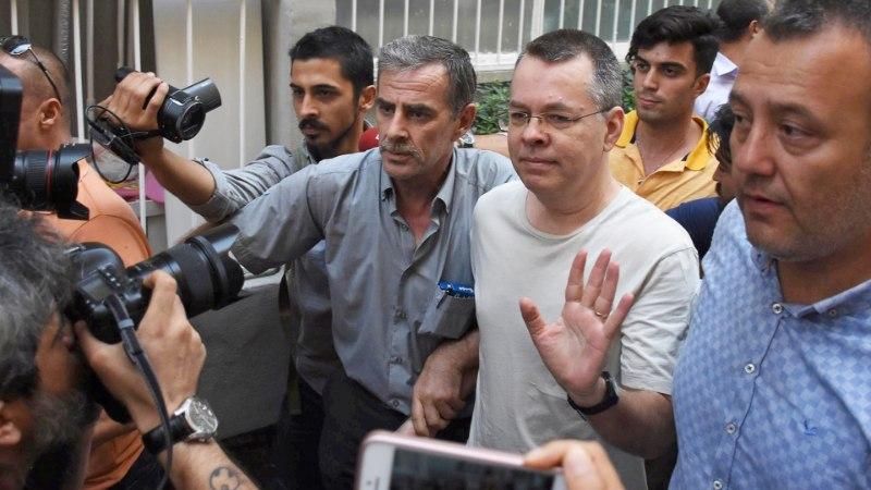 Türgi kohus vabastab ameeriklasest pastori