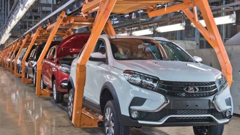 AvtoVAZ alustas uue Lada krossoveri seeriatootmist