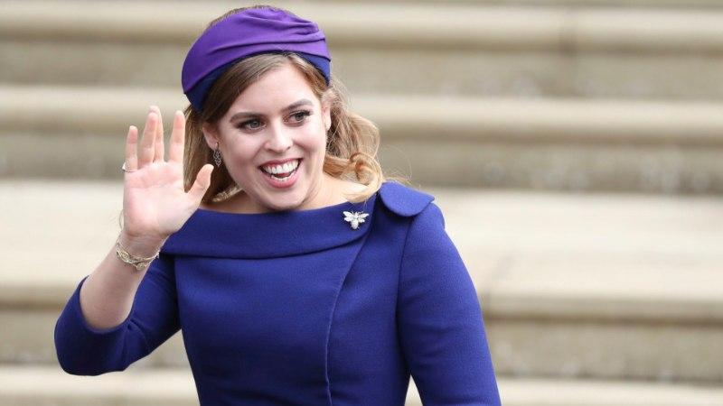 VIDEO | Vaata printsess Eugenie'd kirikusse saabumas