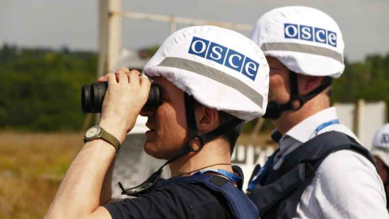 OSCE vaatlejad sattusid Donbassis tule alla