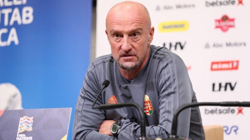 Ungari jalgpallikoondise peatreener: Eesti pole kõiki kaotusi väärinud