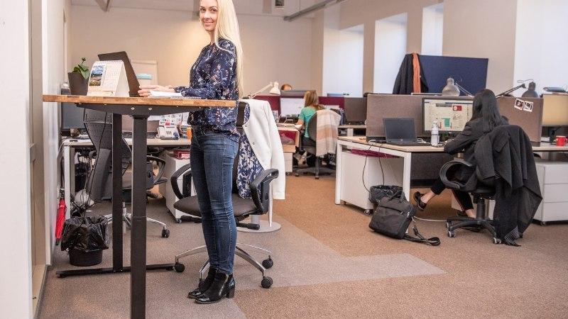 Uimane olek ja pinged kaelas – kontoritöötajate hädadele on nutikas lahendus!