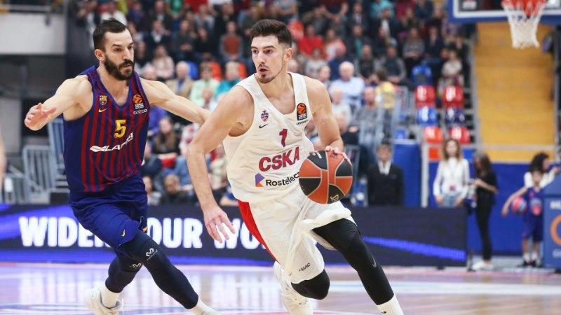 De Colo võimas mäng tõi CSKA-le Euroliigas magusa võidu