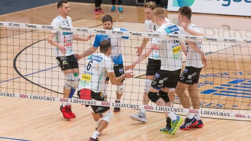 Tartu hävitas Pärnu, TalTech sai silmad pähe