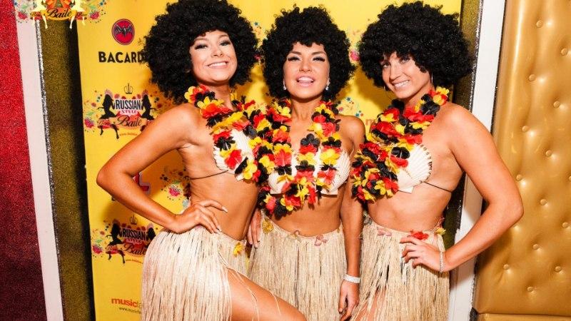 Фото: гостей BAILE-bon RUSSIAN STYLE согревали жаркими ритмами лучшей музыки