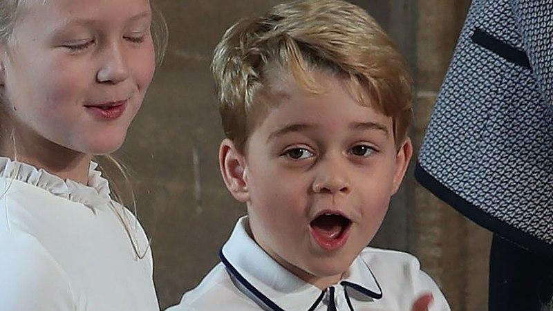 Viieaastane prints George on tõeline tantsulõvi!