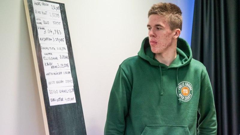 ÕL VIDEO | Noorkorvpallur Loik tegi oma treeneritele Kullamäele ja Müürsepale pika puuga ära!