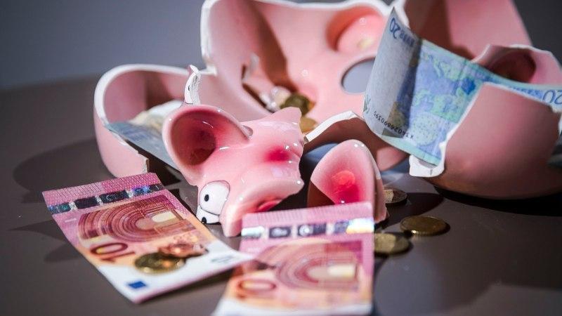 Euroraha jaotuse muutus annab valusaima löögi väikevaldadele