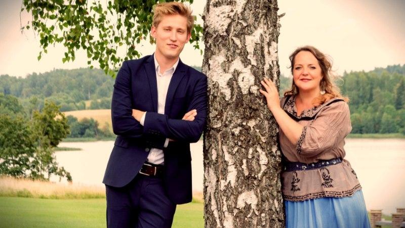 Hedvig Hanson tegi Viljandi järvele ringi peale, üksi ja pimeduses