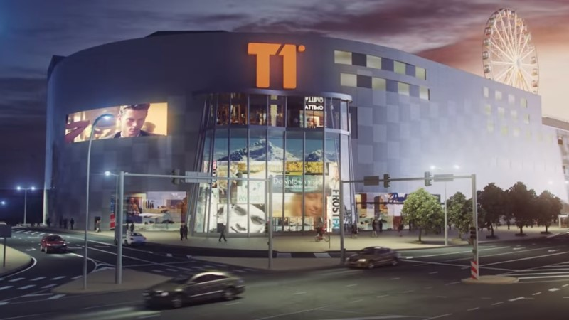 Стала известна дата открытия торгового центра T1 Mall of Tallinn