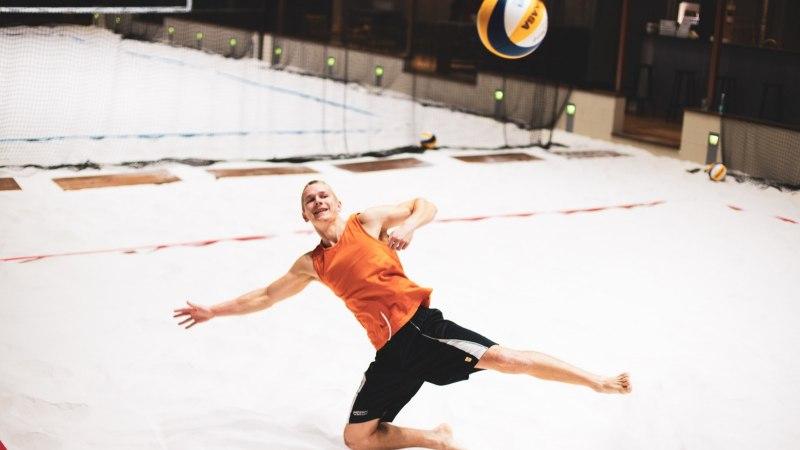 ÕL VIDEO | Kontoritoolist profi vastu rannavollet mängima – kui raske see ikka olla saab?