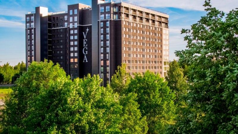 Резиденция VEGA – современный жилой комплекс в самом сердце Ласнамяэ