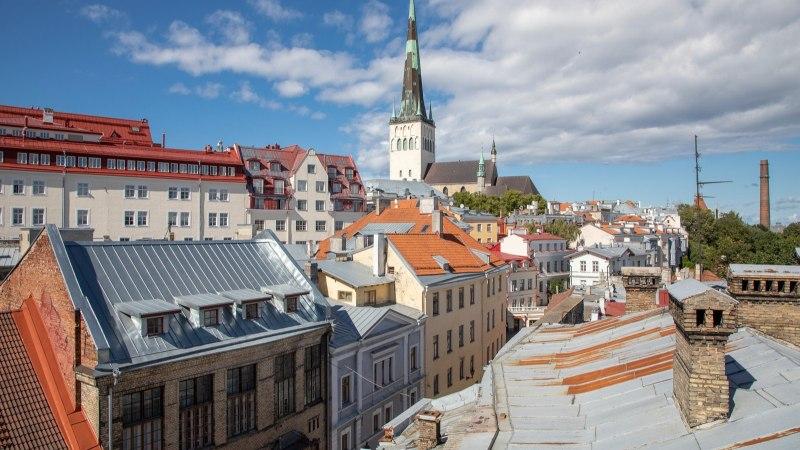 Двое школьников сняли потрясающее видео о Таллинне и получили полет на воздушном шаре