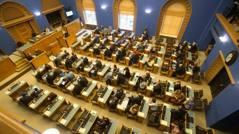 Juhtkiri | Riigikogu vajub akna alla kreeni