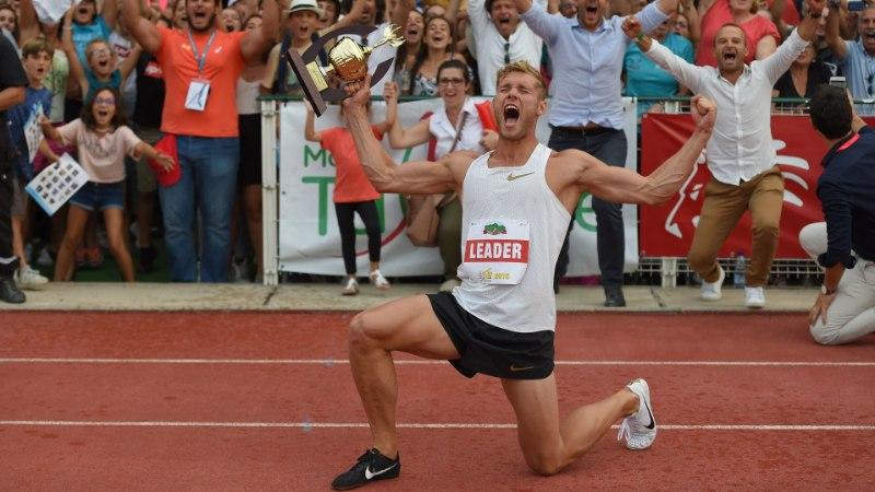 VIDEO | Kevin Mayeri võimas maailmarekord mahub ühe minuti pikkusesse videosse