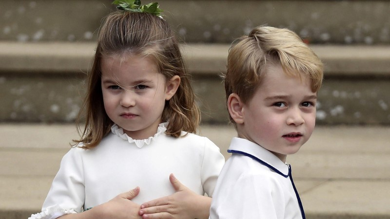 Prints Charles tegi prints George'ile erilise kingi