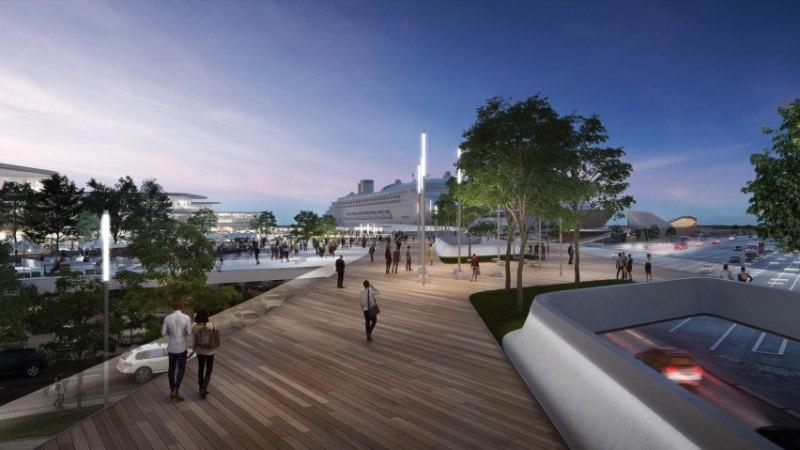Arhitektid: meri peab tulema kesklinnale lähemale