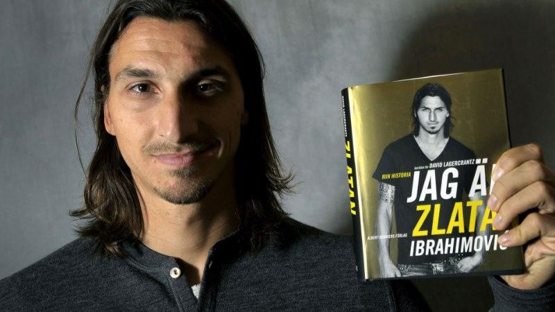 Hitihoiatus! Järgmisel nädalal ilmub juba teine raamat Zlatan Ibrahimovici elust